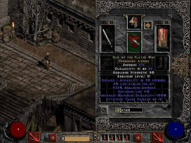 The Best Diablo 2 LoD Hacked characters for Single Player